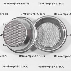 2- порционный фильтр холдера 14 г ø 70x24,5 mm для профессиональных кофемашин
