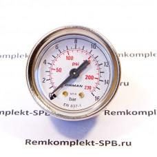 Манометр помпы ø 41 мм 0-16 атм. RANCILIO