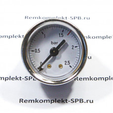 Манометр бойлера ø 40 мм 0-2,5 бар