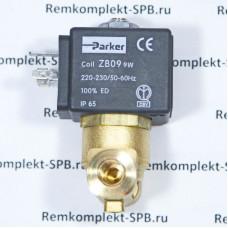2х ходовой эл-магнитный клапан PARKER 230В 50/60Гц - 9W / ø 2,5 мм / ø 1/8