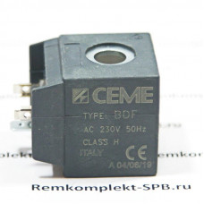 Катушка электромагнитного клапана CEME B6 230В/50Гц