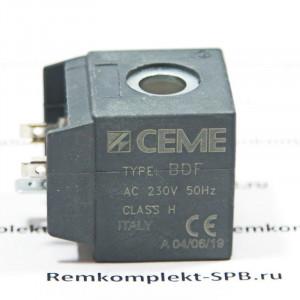 Катушка электромагнитного клапана CEME B6 230В/50Гц для бытовых автоматических, вендинговых и профессиональных кофемашин