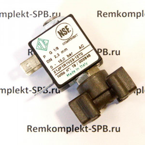 """Электромагнитный клапан ODE 2-ходовой 1/8 ø 2.3 mm 220V"""" для вендинговых кофемашин"""