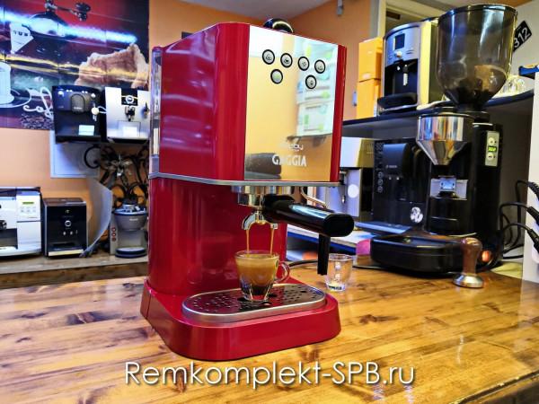 Фото - ремонт бытовой рожковой кофеварки Gaggia Baby