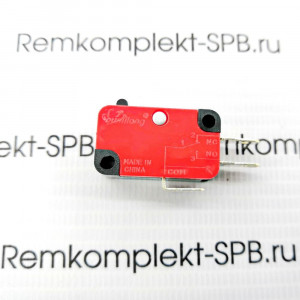 Микропереключатель 3 контактный 250v 15A