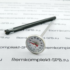 Термометр металлический аналоговый 0-110°C ø 28 ММ