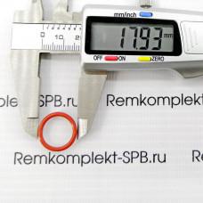 Уплотнительное кольцо / уплотнение ø 18х14х2мм - силикон