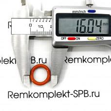 Уплотнительное кольцо ø16-11х2.5мм СИЛИКОН