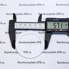 Плоский уплотнитель ø 57x42x3 мм фторопласт