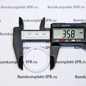 Плоский уплотнитель ø 36x30x2 мм фторопласт