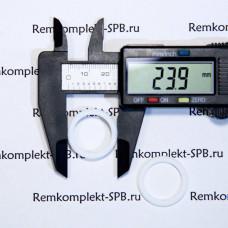 Плоский уплотнитель ø 24x18x2 мм фторопласт