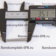 Конусная пружина крема клапана ø 6/4x35 мм SAECO / GAGGIA