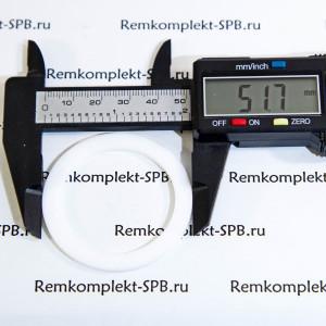 Плоский уплотнитель / прокладка ø 52x40x2мм PTFE / Фторопласт