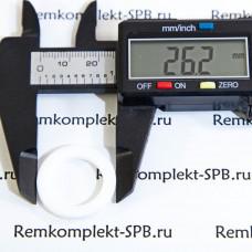 Плоская прокладка ø 26x17x2 мм PTFE / Фторопласт
