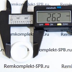 Плоская прокладка ø 22x17x2 мм PTFE / Фторопласт