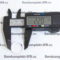 Плоское уплотнение / прокладка ø 22x17x1,5 мм PTFE