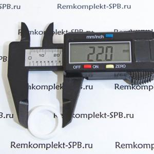 Плоское уплотнение ø 22x17x1,5 мм PTFE