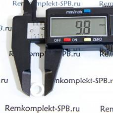 Плоский уплотнитель / прокладка ø10x6x1 мм PTFE
