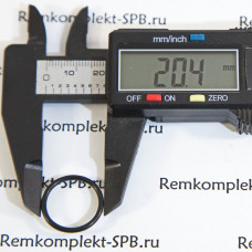 Уплотнительное кольцо 02068 ø20,73-17,17х1.78мм  EPDM