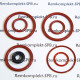 Ремкомплект уплотнений (8 шт) Krups XP/EA