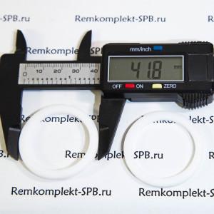 Уплотнение плоское / прокладка ø 42x33x3 мм PTFE