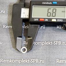 Уплотнитель плоский ø 6x5x0,5 мм PTFE / фторопласт