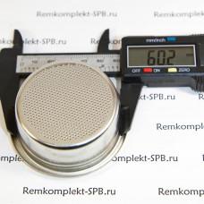 2-порционный фильтр холдера 18 г ø 70x28 mm