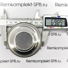 1-порционный фильтр холдера 6 г ø 70x20,5 mm