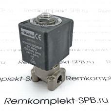 """Эл.магнитный 2х ходовой клапан PARKER 230В ø 1/8""""FF 121ZS1692"""