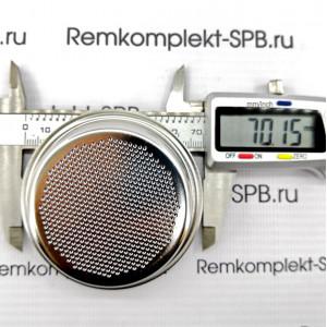 Фильтр холдера на 2 чашки 15гр ø 70 mm BARISTAPRO