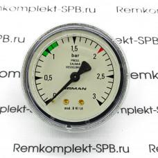 Манометр БОЙЛЕРА ø 62 мм 0÷3 бар для км ASTORIA CMA