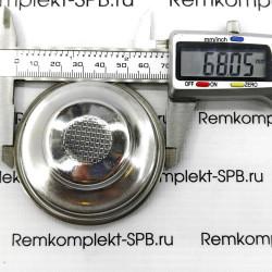 Фильтр холдера на одну чашку  ø 68 - 60 х 27мм форсунка 0,6мм saeco gaggia