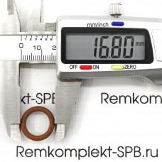 Уплотнение OR 0115 / ø 17,21-11,91х2,62 мм  ВИТОН