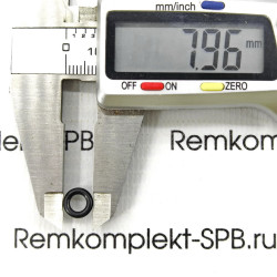 Уплотнительное кольцо OR 02018 - ø8-4,48х1.78mm EPDM