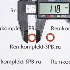 Уплотнение ORM 0080-20 Silicon RED ø 12 - 8 х 2мм