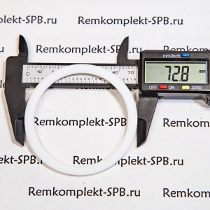 Плоская прокладка из фторопласта ø 73x61x3 мм