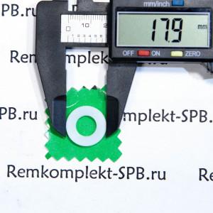 Прокладка плоская 18X9X0,5 мм - фторопласт