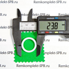 Уплотнитель плоский ø 24x18x2 мм - фторопласт