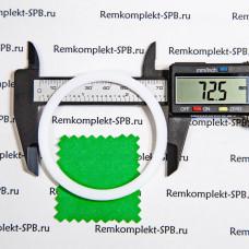 Уплотнитель плоский ø 73x61x2 мм - фторопласт