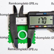 Уплотнитель плоский ø 17x12x0,5 мм фторопласт