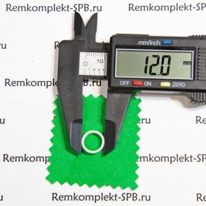 Уплотнение / прокладка плоская ø 12x10x2 мм - фторопласт