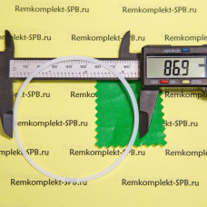 Уплотнитель плоский ø 87x81x0,5мм - фторопласт
