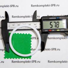 Уплотнитель плоский ø 58x51x2 мм - фторопласт
