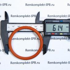 Уплотнительное кольцо 06200 61.4х5.3мм - красный силикон