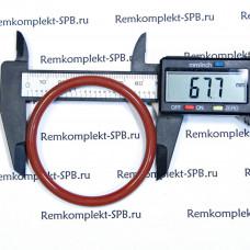Уплотнительное кольцо 06225 силикон 5.34 x ø 67мм