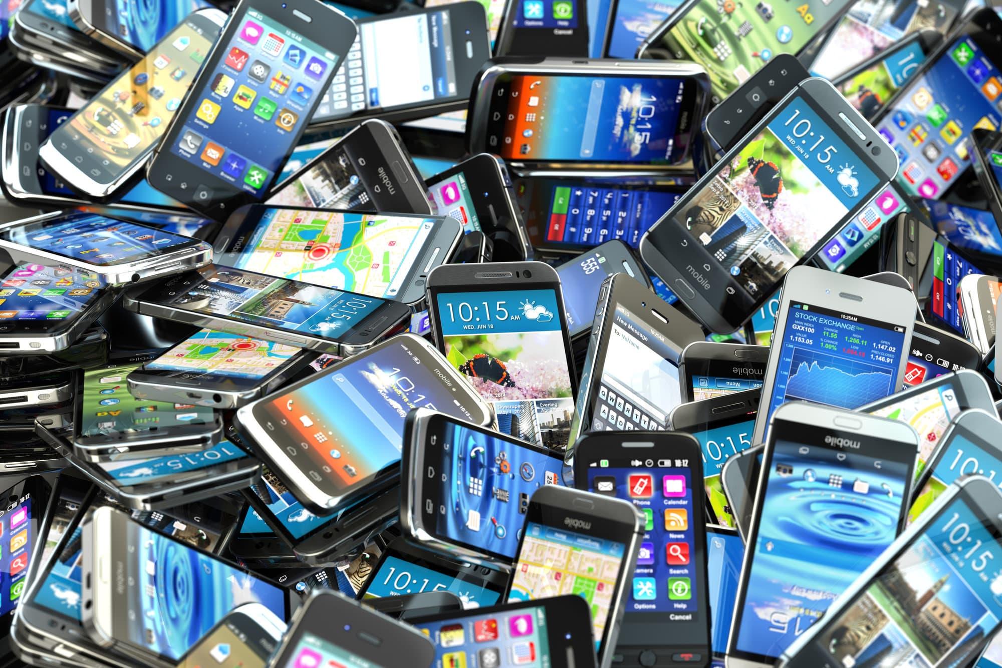 Устаревание мобильных устройств происходит быстро и наглядно